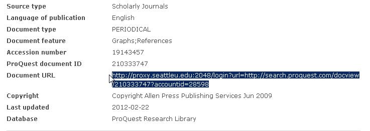 Document URL