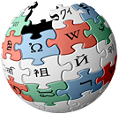 Colour Wikipedia logo