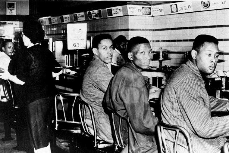 Lunch Counter Sit-in, Greensboro, North Carolina, 1960