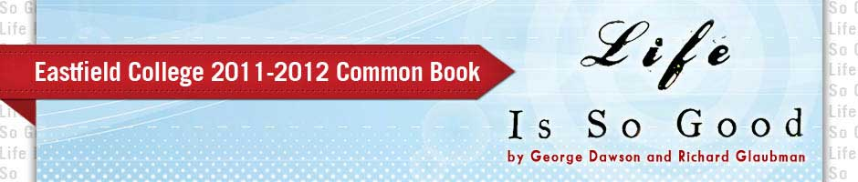 """Common book banner for """"Life is so Good"""""""