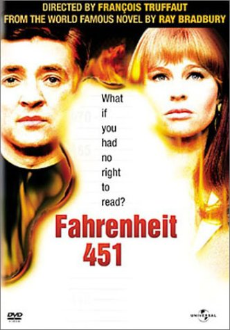DVD cover for Fahrenheit 451.