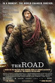 DVD cover for The road.