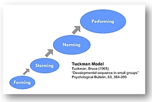 Tuckman's model of group development