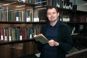 Dr Stuart Ferguson with Exiles