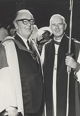 Bishop Housden with J.J. Auchmuty