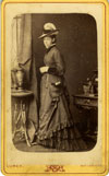 Unidentified Woman from the Scholey Upfold Papers - Click for a larger image