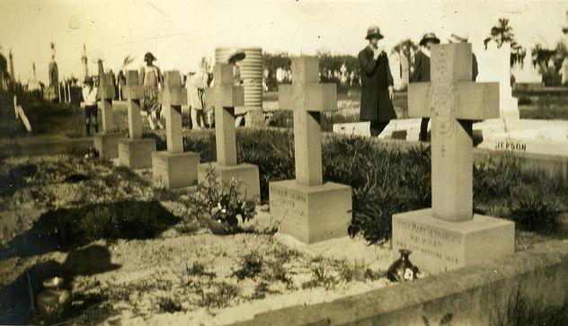 The Sisters' Plot, Sandgate Cemetery