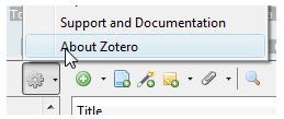 about zotero
