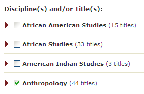 jstor subjects