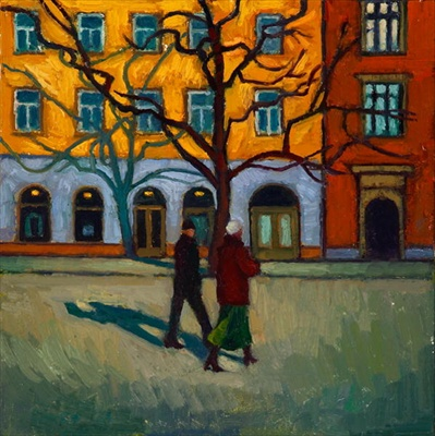 "painting Barden's ""In Cracow"""