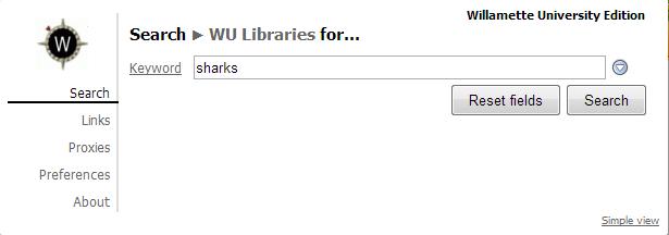 WU LibX Search Box