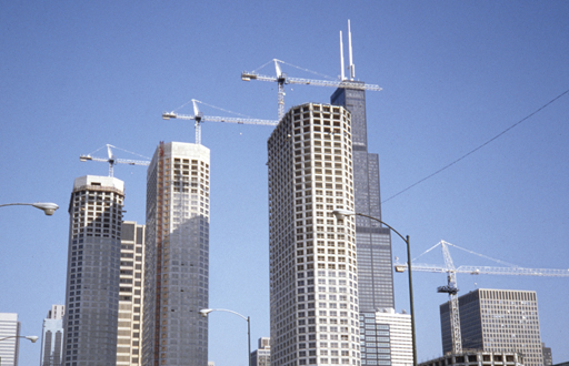 Presidential Towers under construction