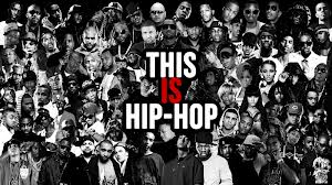 This is Hip-Hop Poster. Collage of hip-hop artists.