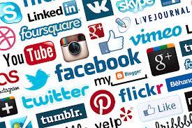 Multiple Social Media Logos