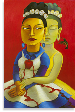Mexican American Art Sample