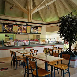 fast food resteraunt interior