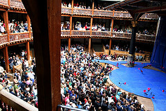 The Globe Theatre in London, England.