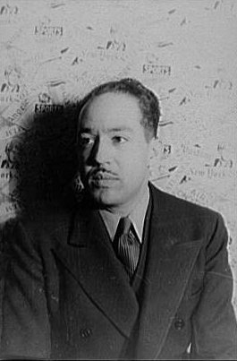 Langston Hughes, 29 February 1936, by Carl Van Vechten.  Library of Congress, Prints and Photographs Division, Van Vechten Collection.