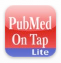 PubMed on Tap Lite logo