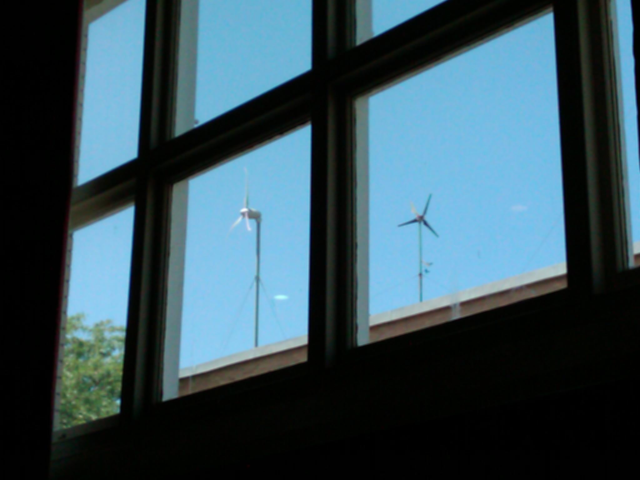 UMass Lowell Wind Turbines