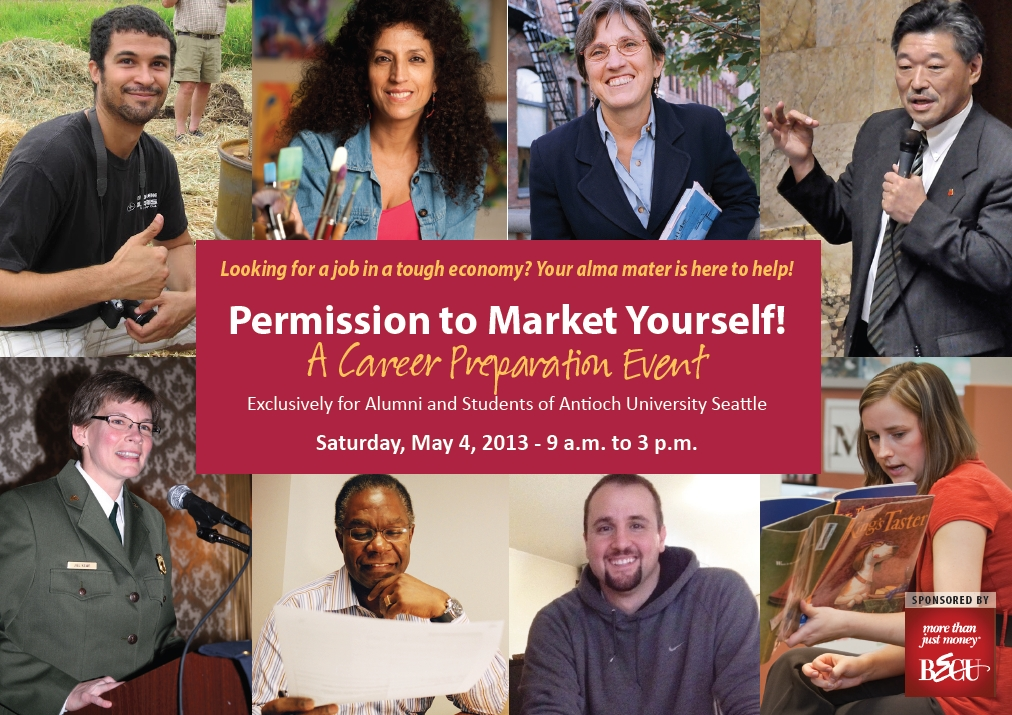 Permission to Market Yourself flyer