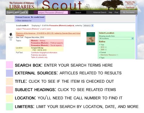 screenshot of Scout book record