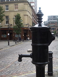Cholera pump 1854