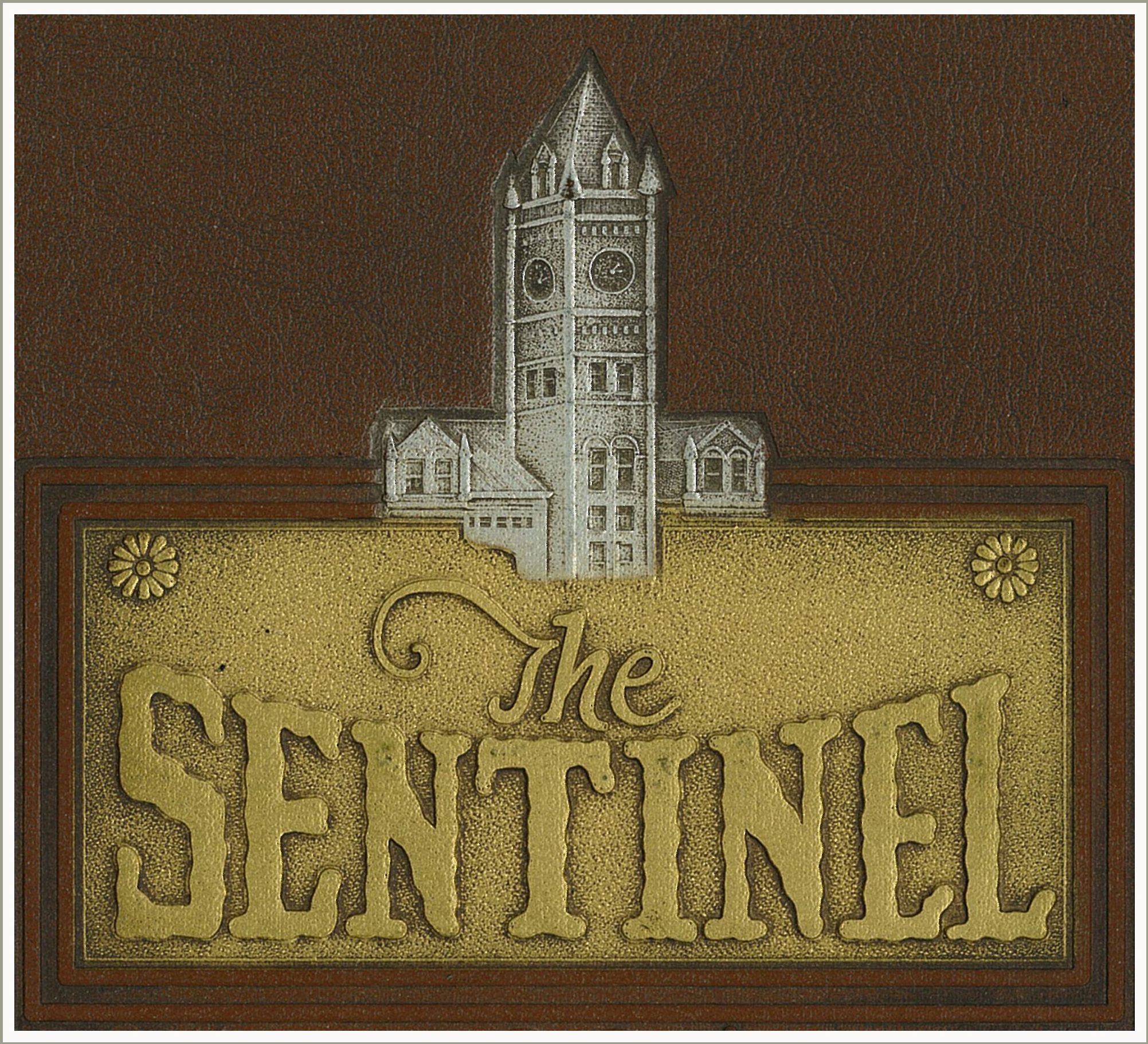 Cover of Sentinel Yearbook