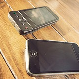 Two phones.