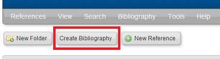 create bibliography