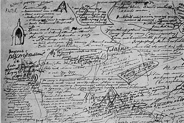 Dostoevskii's notes for Ch. 5, Brothers Karamazov