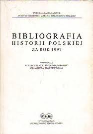 Cover of Bibliografia Historii Polskiej 2007
