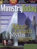 Image of the cover of Ministry Today as an example of a trade or professional publication