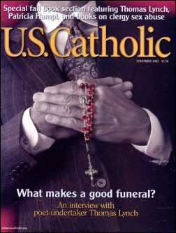 Image of the cover of U.S. Catholic as an example of a general purpose publication