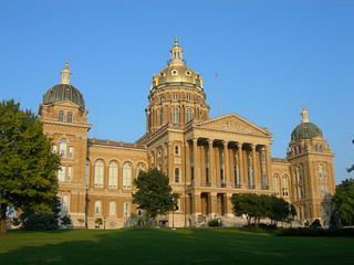 Iowa capitol building