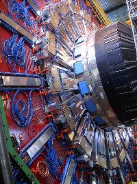 Endcap of the Compact Muon Solenoid