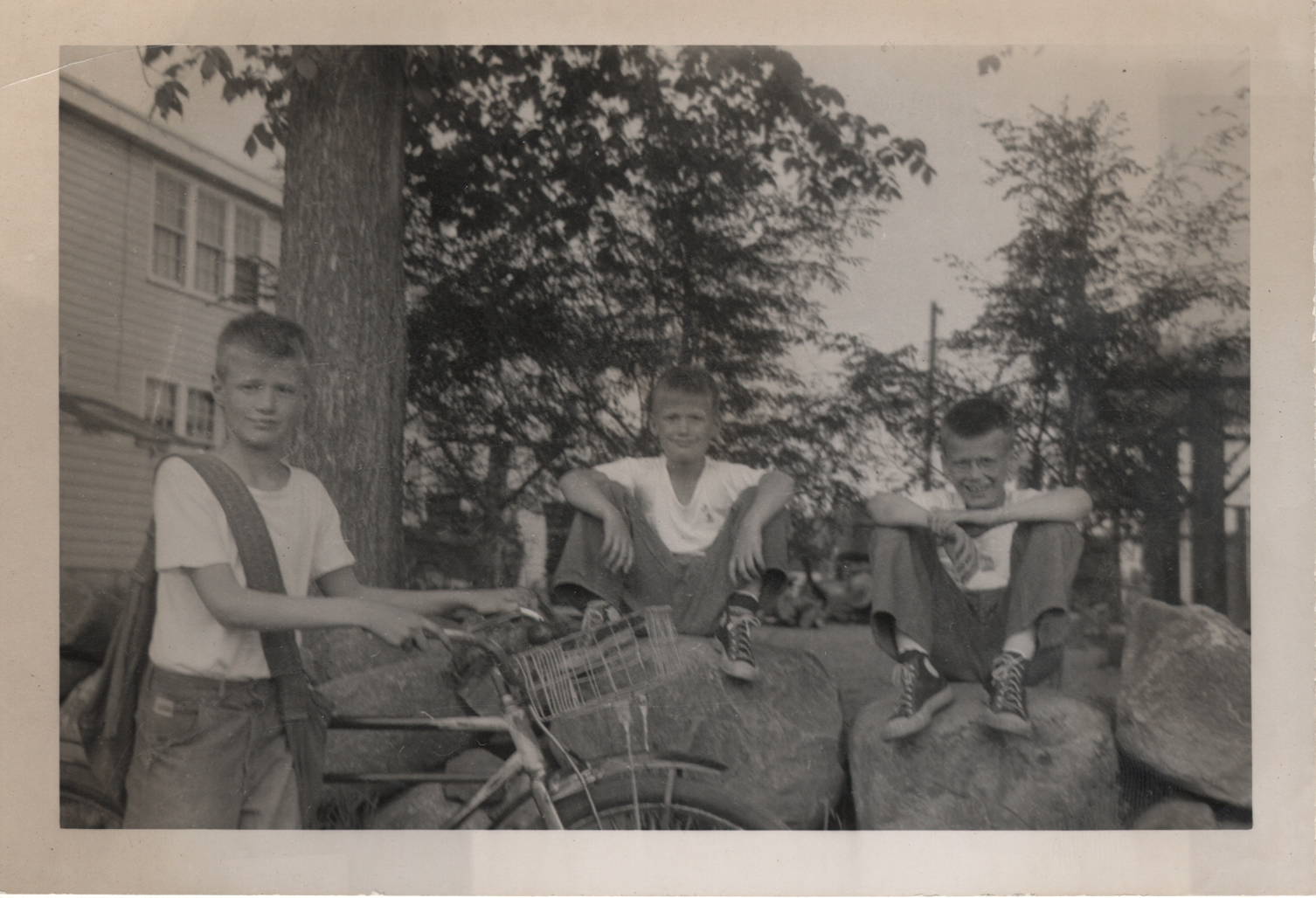 McNair brothers, summer 1950