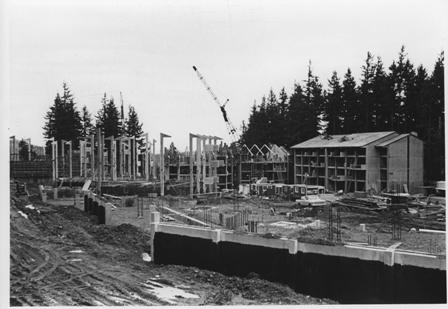 Fairhaven College construction