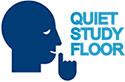 quiet study floor