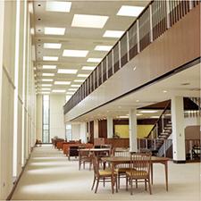midcentury library