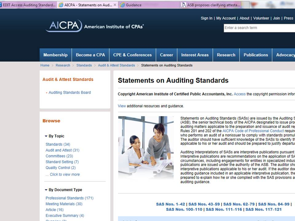 AICPA Auditing Standards