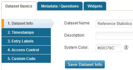 Manage Datasets - Dataset Basics