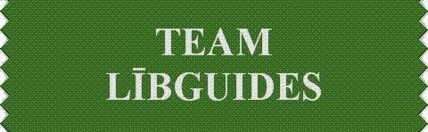 """Team Libe-Guides"" Ribbon"