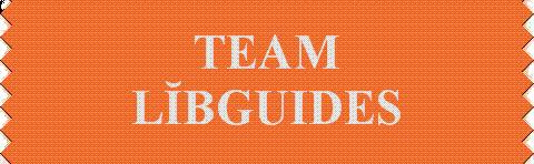 """""""Team Lib-Guides"""" Ribbon"""
