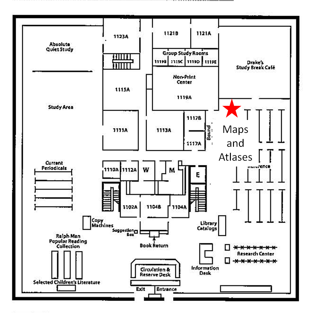 Maps and Atlases Location
