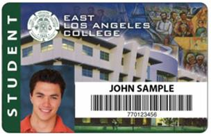 ELAC student ID card