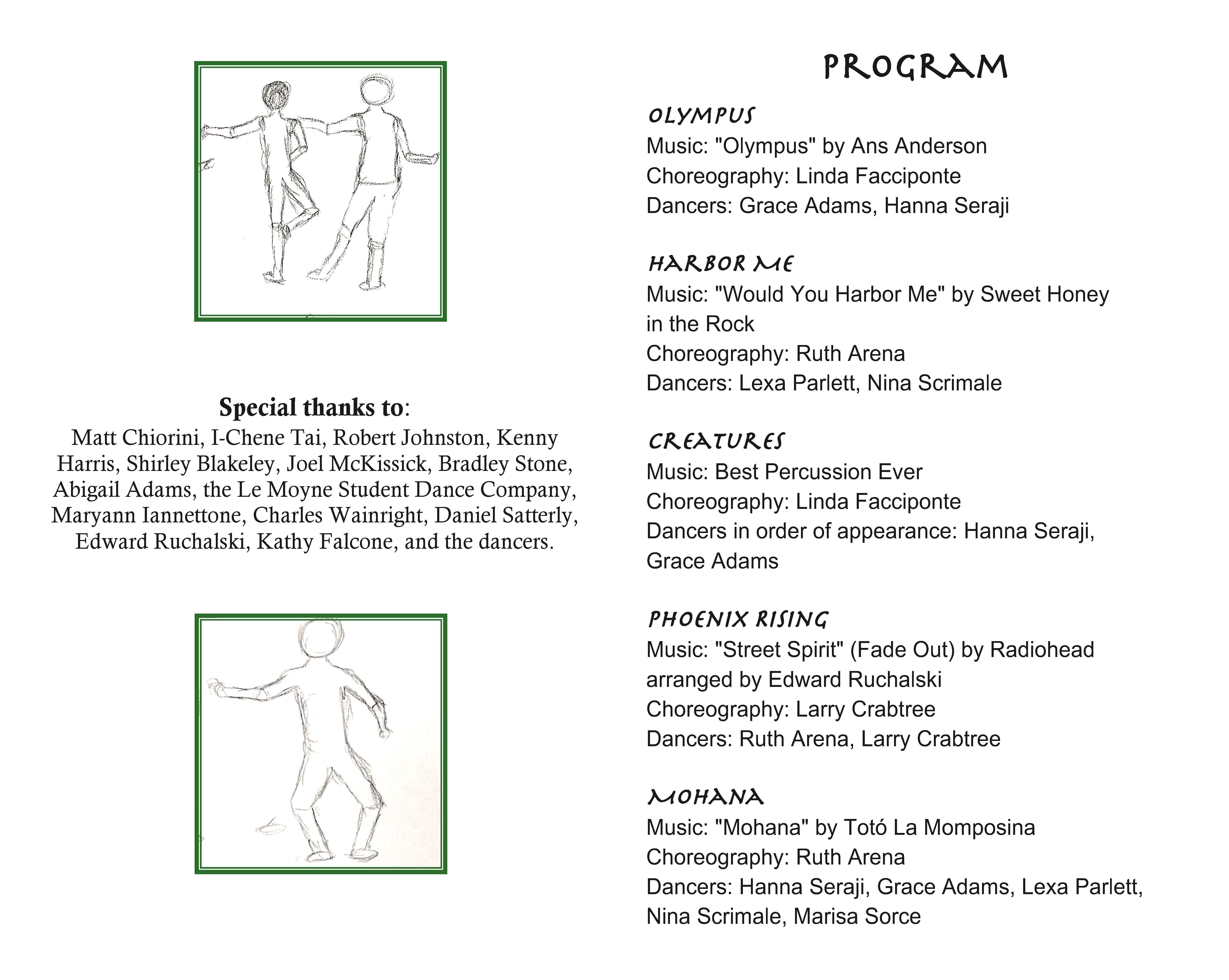 Dances to Myths (program note p.2)