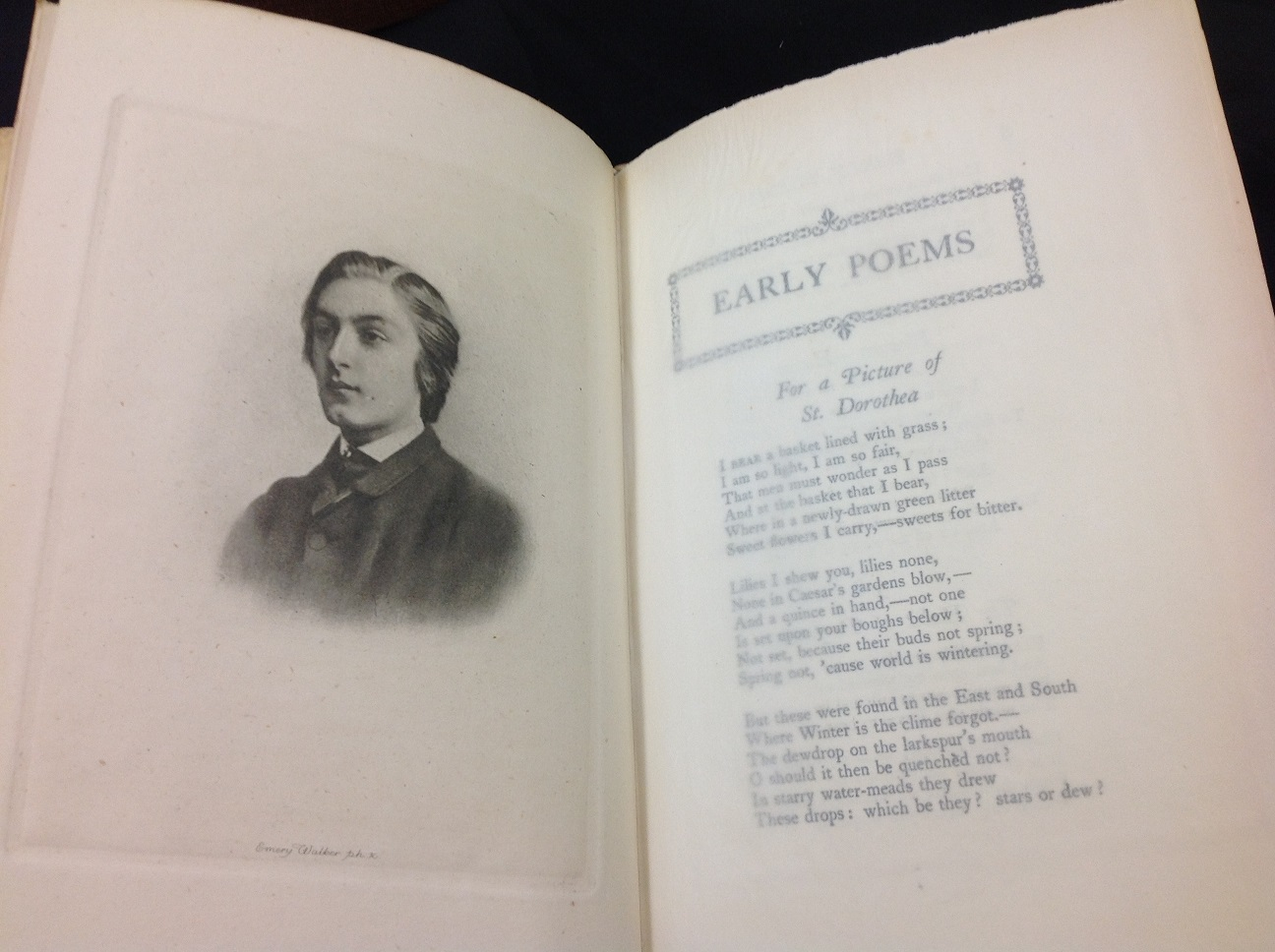 1918 first edition of Hopkins poems