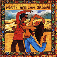 CD cover for african groove and sound recording