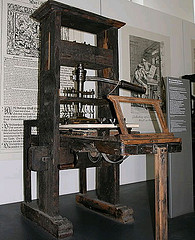 Gutenburg Printing Press